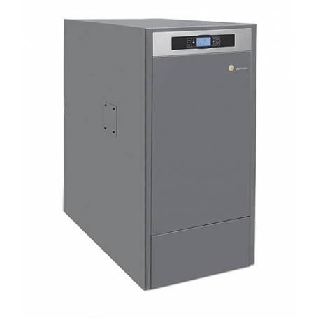 Caldera de pellets BioClass HM+DR 10 kW con depósito TBIO000083 Domusa