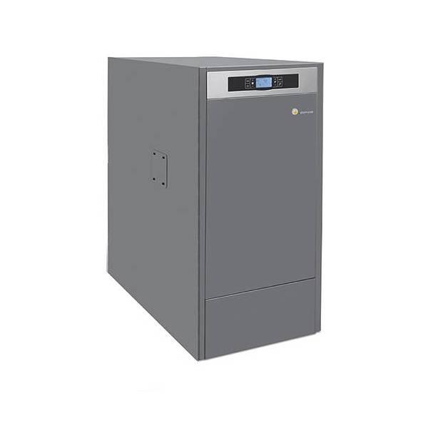 Caldera de pellets BioClass HM 10 kW limpieza automática Domusa