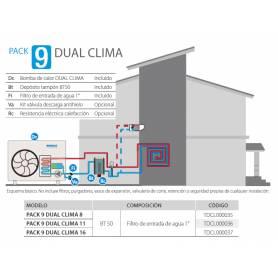 PACK 9 DUAL CLIMA 11 de Aerotermia DomusaTeknik