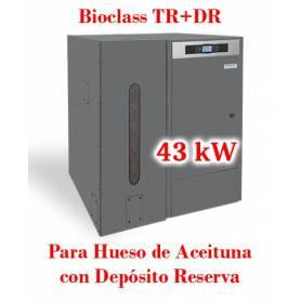 Caldera de Pellets BioClass HM+DR 43 kW y Depósito Domusa TBIO000086