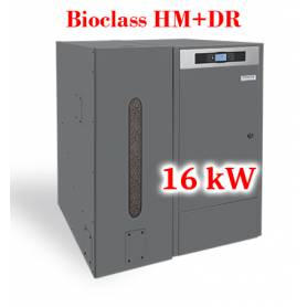 Caldera de pellets BioClass HM+DR 16 kW con depósito TBIO000084