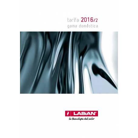 Tarifa Lasian 2016/2 gama doméstica