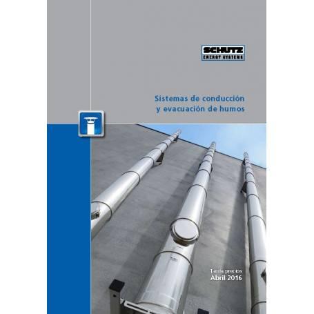 Tarifa 2016 Schutz de sistemas de conducción y evacuación de humos