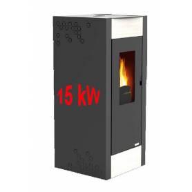 Hidroestufas policombustibles Onix EVO 15 kW. Limpieza automática